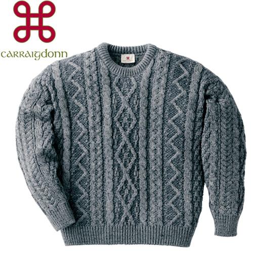 フィッシャーマンズダイヤモンドセーター キャレイグドン【CARRAIG DONN】[あす着対応] グレンフィールド