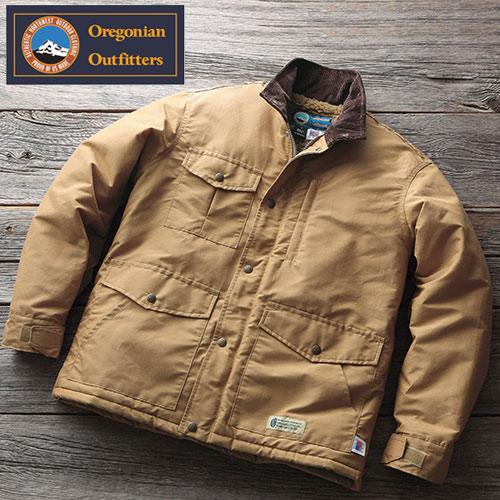 アメリカ製ボア付マウンテンブルゾン/メンズ【Oregonian Outfitters】【オレゴニアン】[あす着対応] グレンフィールド