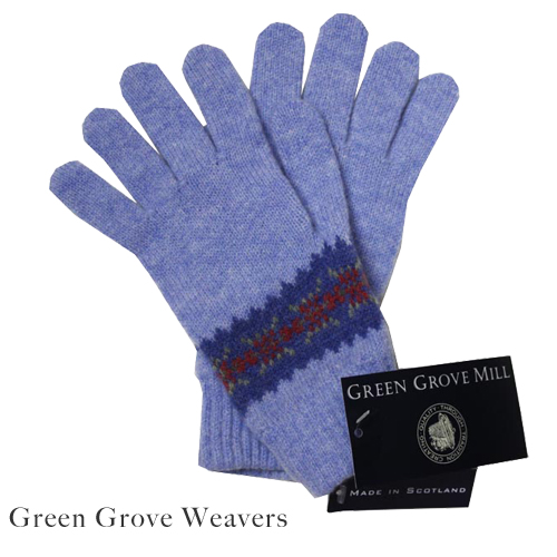 【ポイント10倍】GREEN GROVE WEAVERS(グリーングローブウェーバー)フェアアイルレディースグローブ FIGV4【10P20Apr12】