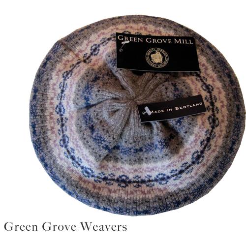 GREEN GROVE WEAVERS(グリーングローブウェーバー)フェアアイルレディースハット FIHT3