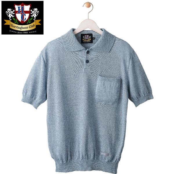 日本製フレンチリネンニットポロシャツ/HBC/日本製[あす着対応] グレンフィールド[18ap04] セール対象