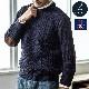 英国製 フィッシャーマンズ セーター クルーネック ニット セーター[JM COOPER/ジェイエムクーパー][あす着対応][保証対象]