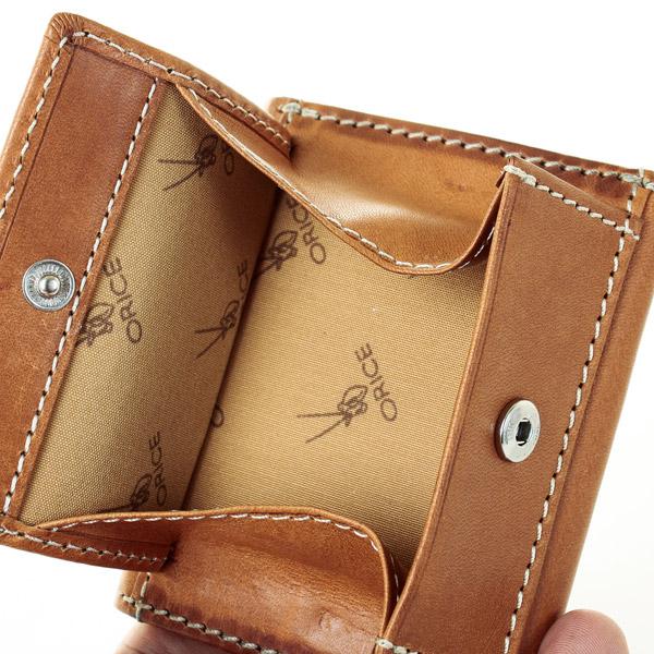 【2個以上購入で10%OFFクーポン有】オリーチェバケッタレザー三つ折り財布【ORICE】[名入れ無料][あす着対応]父の日 u10/poi10s グレンフィールド