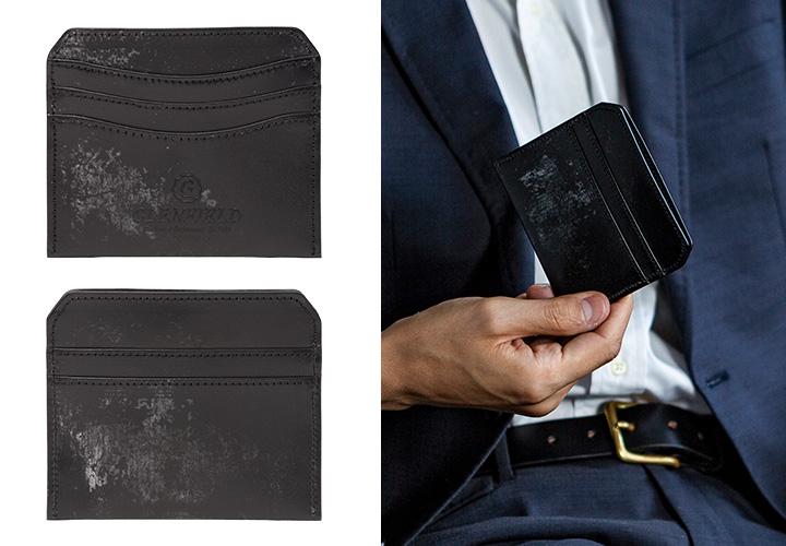 日本製 カードケース カードウォレット クレジットカードケース 英国製レザー ブライドルレザー 本革財布 財布 THOMAS社[GLENFIELD/グレンフィールド][あす着対応]