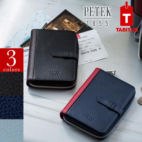 PETEK パスポートカバーウォレット[TABITUS/タビタス][JA][あす着対応]