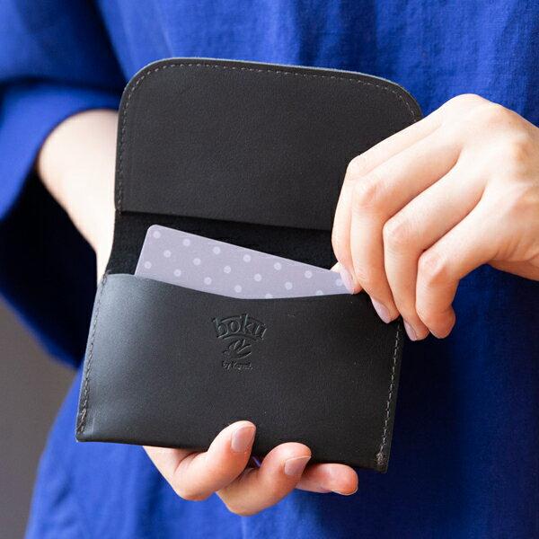 Kanmi. カンミ boku no ロマン カードケース K18-17  [名刺入れ パスケース ブランド ギフト プレゼント 本革 レザー] [名入れ無料] 【ギフト包装不可】[ネコポス便出荷]  [あす着対応]