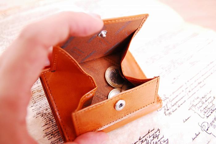 【名入れ無料】オリーチェレザー三つ折り財布/ウォレット[あす着対応]父の日 u10/poi10s グレンフィールド