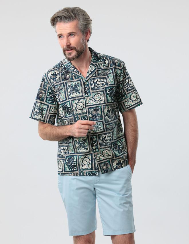 アメリカ製ハワイアンシャツ[あす着対応] グレンフィールド[18ap03] セール対象