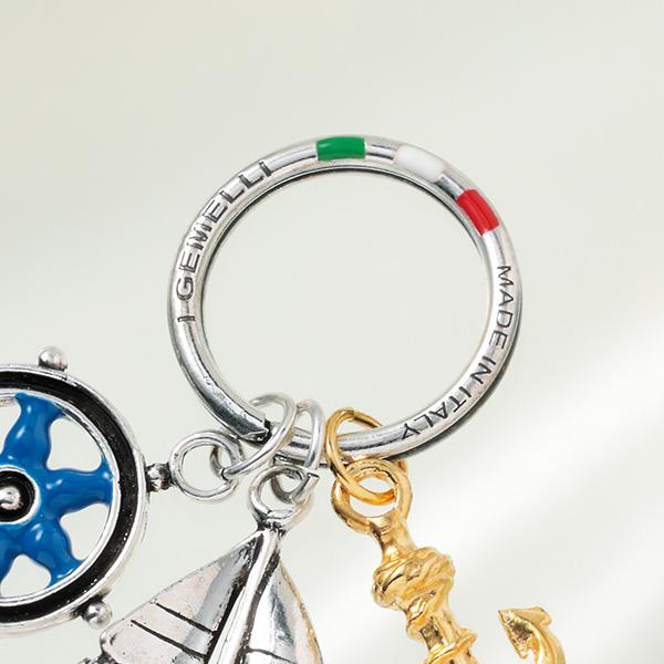 イタリア製マリンシルバーキーリング[I GEMELLI/イ・ジェメリ] [あす着対応] グレンフィールド セール対象