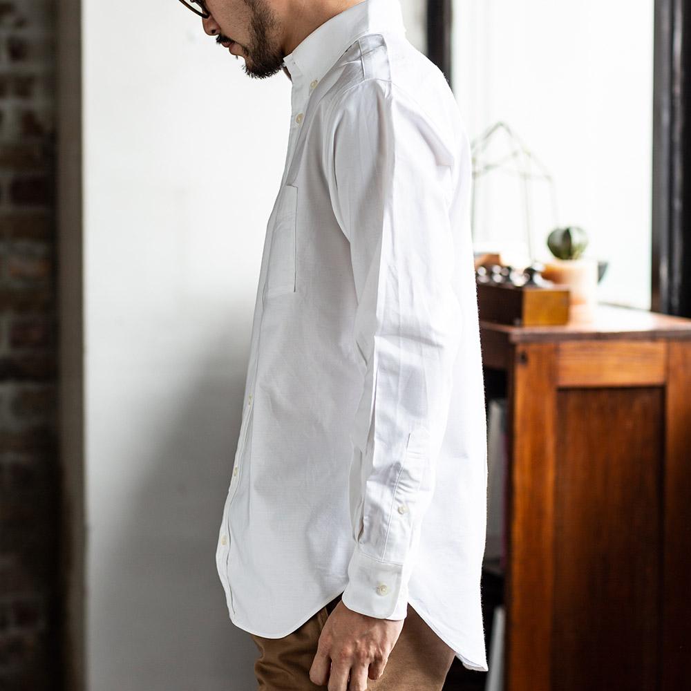 [SERO / セロ] オックスフォード OXFORD ボタンダウンシャツ メンズ 男性 日本製 [あす着対応]
