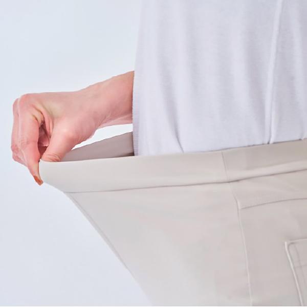[アリキ/ピーツー] クールフリーデ ガウチョパンツ [ストレッチ はっ水 UVカット 紫外線カット 遮熱 レディース 日本製]