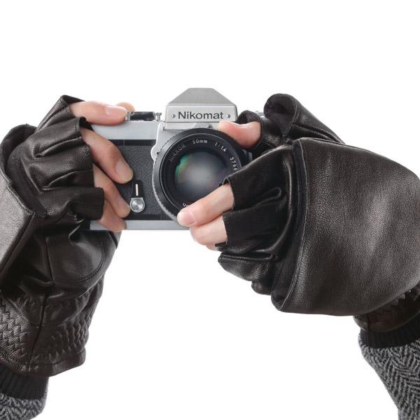 やぎ革 コンバーチブル グローブ 手袋 PARK RANGER パークレインジャー[あす着対応] セール対象