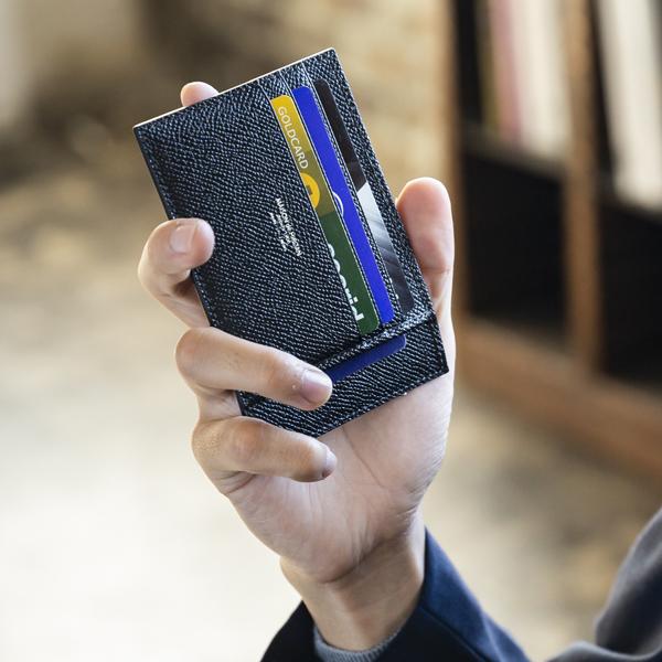 [メゾンド ヒロアン/MAISON de HIROAN] 日本製 カード型財布 アルピナレザー 本革 博庵 [あす着対応] セール対象