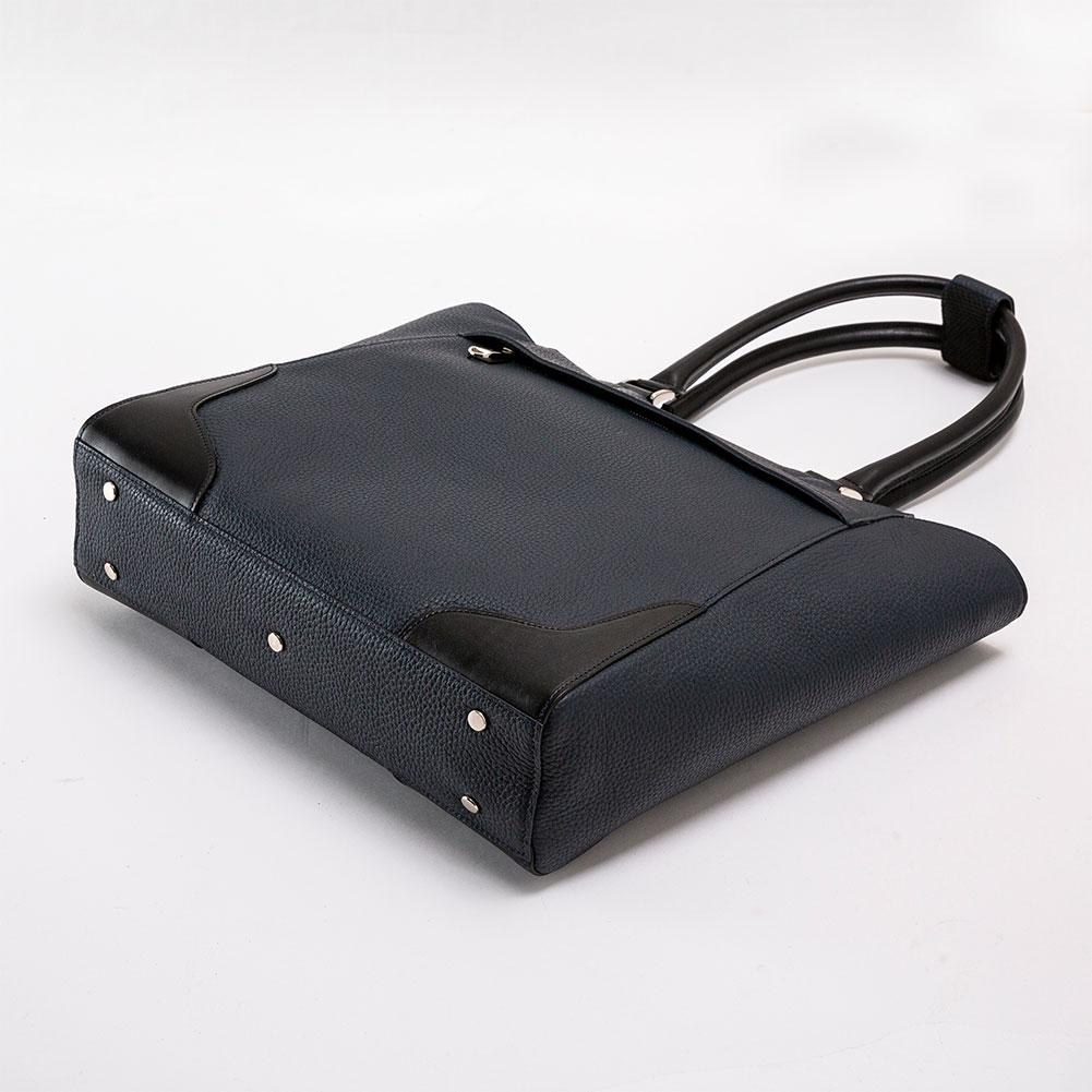 日本製 撥水レザー ビジネスバッグ トートバッグ メンズ 撥水度 4級 [GLENFIELD/グレンフィールド][あす着対応]