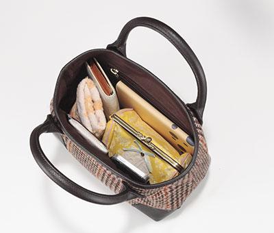 [ハリスツイード]HARRIS TWEED プチトートバッグ[あす着対応] グレンフィールド
