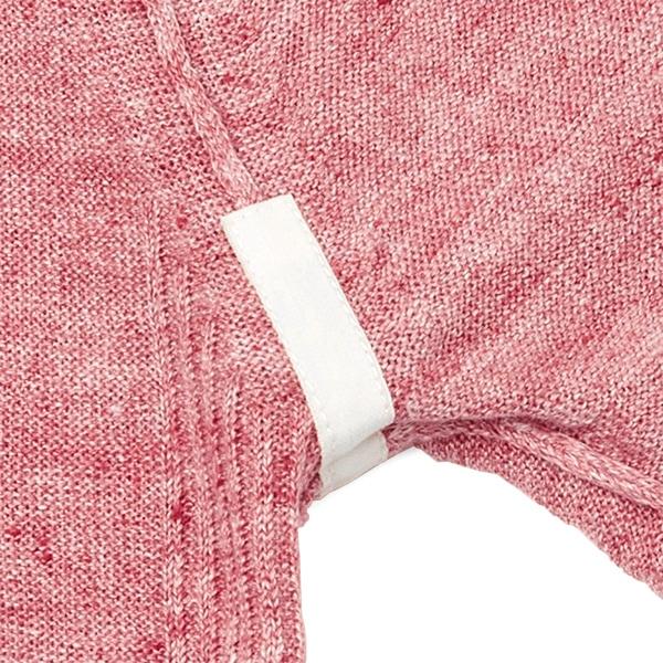 [amiaz /アミアズ] イタリア糸 洗える麻ニットTシャツ [JA][あす着対応] p20