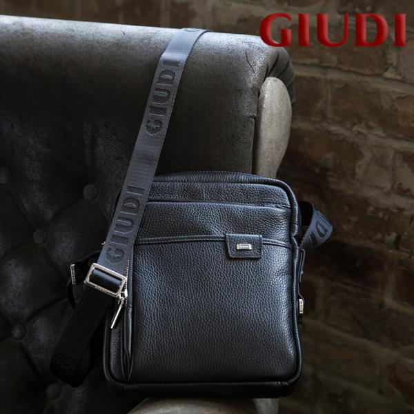 イタリア製 メンズ ミニショルダーバッグ [GIUDI/ジウディ][本革 男性用 ショルダーバッグ 斜め掛け][あす着対応]