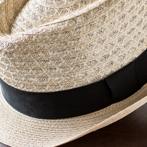 イタリア製ヘンプハット [パナマハット 麻 麦わらぼうし メンズ 麦わら帽子  帽子 夏]  [あす着対応]【ギフト包装不可】グレンフィールド[panahat] セール対象