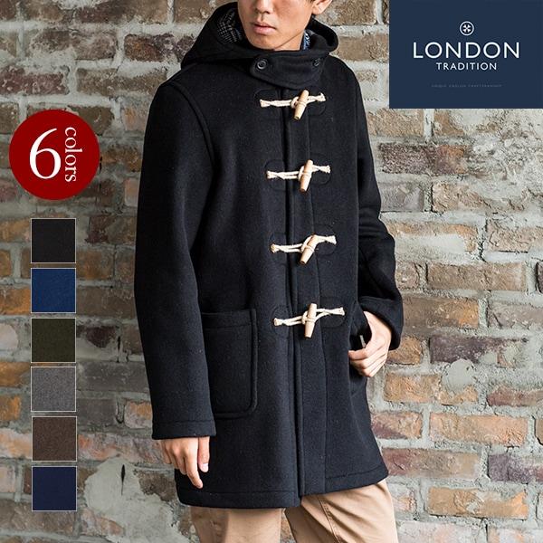 ダッフルコート メンズ 英国製 ロンドントラディション マーティン MARTIN SLM NYNF LondonTradition cort uk イギリス製 Made in England [ LONDON TRADITION / ロンドン・トラディション] [あす着対応]