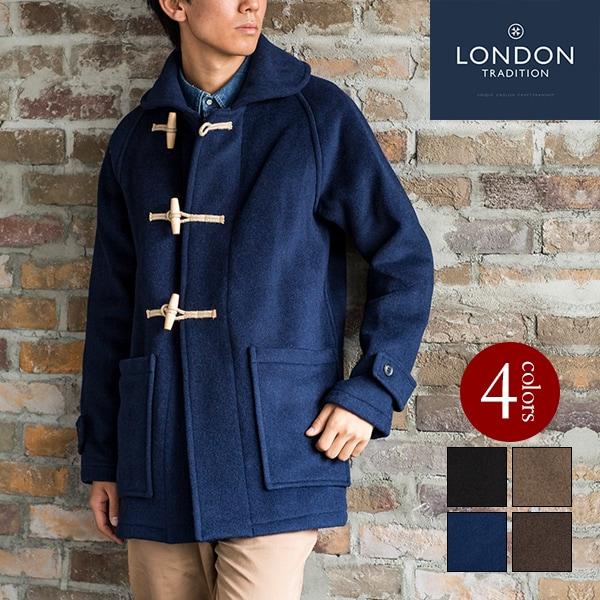 ダッフルコート メンズ 英国製 ロンドントラディション  CM RAGLAN JKT LondonTradition cort uk イギリス製 ラグラン ショール ジャケット Made in England [ LONDON TRADITION / ロンドン・トラディション] [あす着対応]