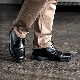 靴 メンズ イギリス製 レザーシューズ 3EYE チャッカブーツ くつ シューズ 革 革靴 ビジネス ドクターマーチン[SOLOVAIR / ソロヴェアー][あす着対応]