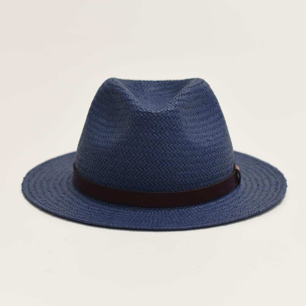 スペイン製 ペーパー クラッシャブル 中折れ ハット 帽子 折り畳み 日よけ 日除け [miralles/ミラレス][あす着対応]