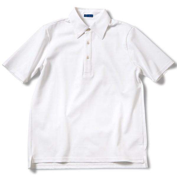 [リングヂャケット] レギュラーカラー台襟付き ポロシャツ [メンズ 日本製]