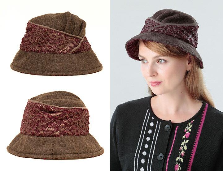 フランス製 マダムフェルトシャポー [MTM (MANUFACTURE TEXTILE MERIDIONALE)] 帽子 レディース [あす着対応] セール対象