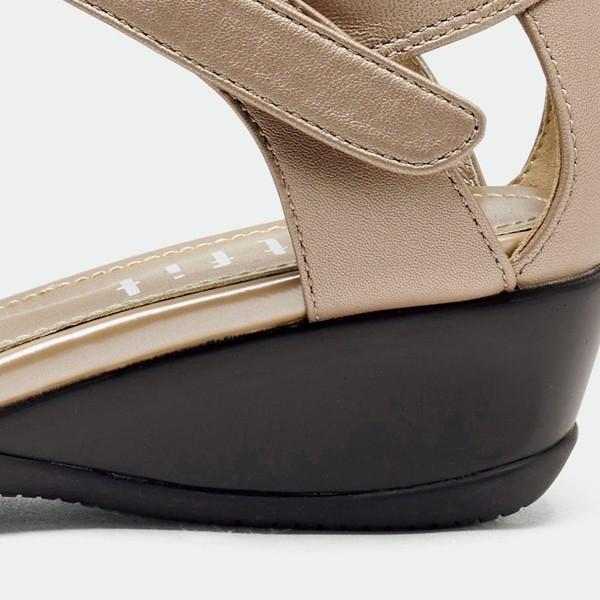[fitfit/フィットフィット] 旅するストラップサンダル  [シューズ 靴 ウェッジソール レディース]