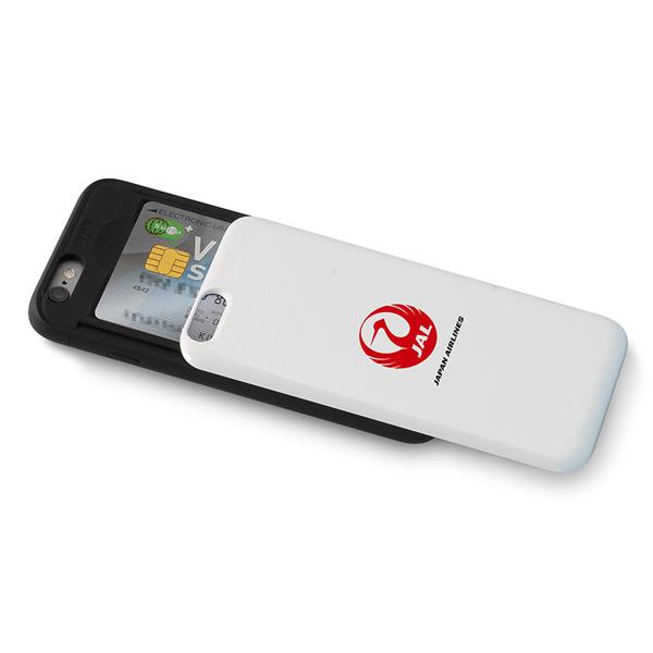 JALオリジナル  iPhone7、iPhone8 ICカード収納付ケース [ スマホケース iPhoneケース 携帯 ケース IC JAL おしゃれ 誕生日 プレゼント] [JA] [ギフト包装不可] [ネコポス便出荷]