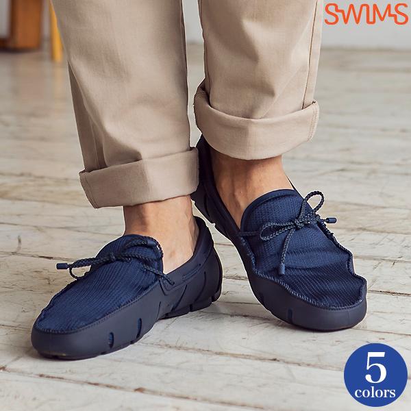 ストライド レース シューズ 靴 ローファー メンズ 男性用 水陸両用 [SWIMS/スイムス][あす着対応]