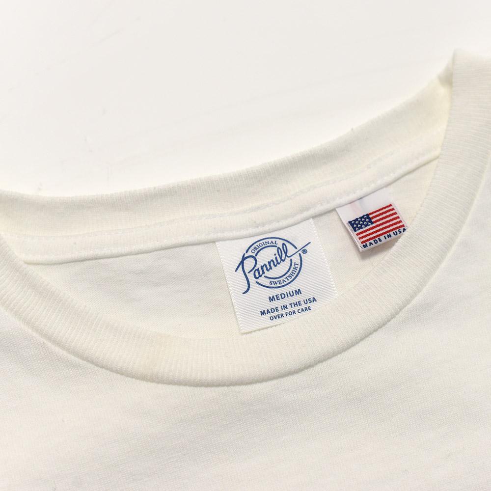 ポケット ショートスリーブ Tシャツ ポケT 半袖 コットン MADE IN USA アメリカ製 [PANNILL /パニール][あす着対応]