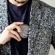 正規日本代理店 OGON アルミラウンドコインケース/日本円[OGON/オゴン][小銭入れ 硬貨 コインディスペンサー コインホルダー 小銭 収納][あす着対応]【父の日特集】