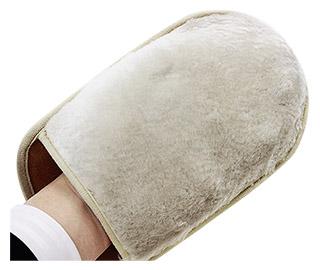 【ペダック/pedag】レザー グローブ/レザーケア【皮革製品の仕上げ拭き 艶出し】グレンフィールド【ネコポス便出荷】
