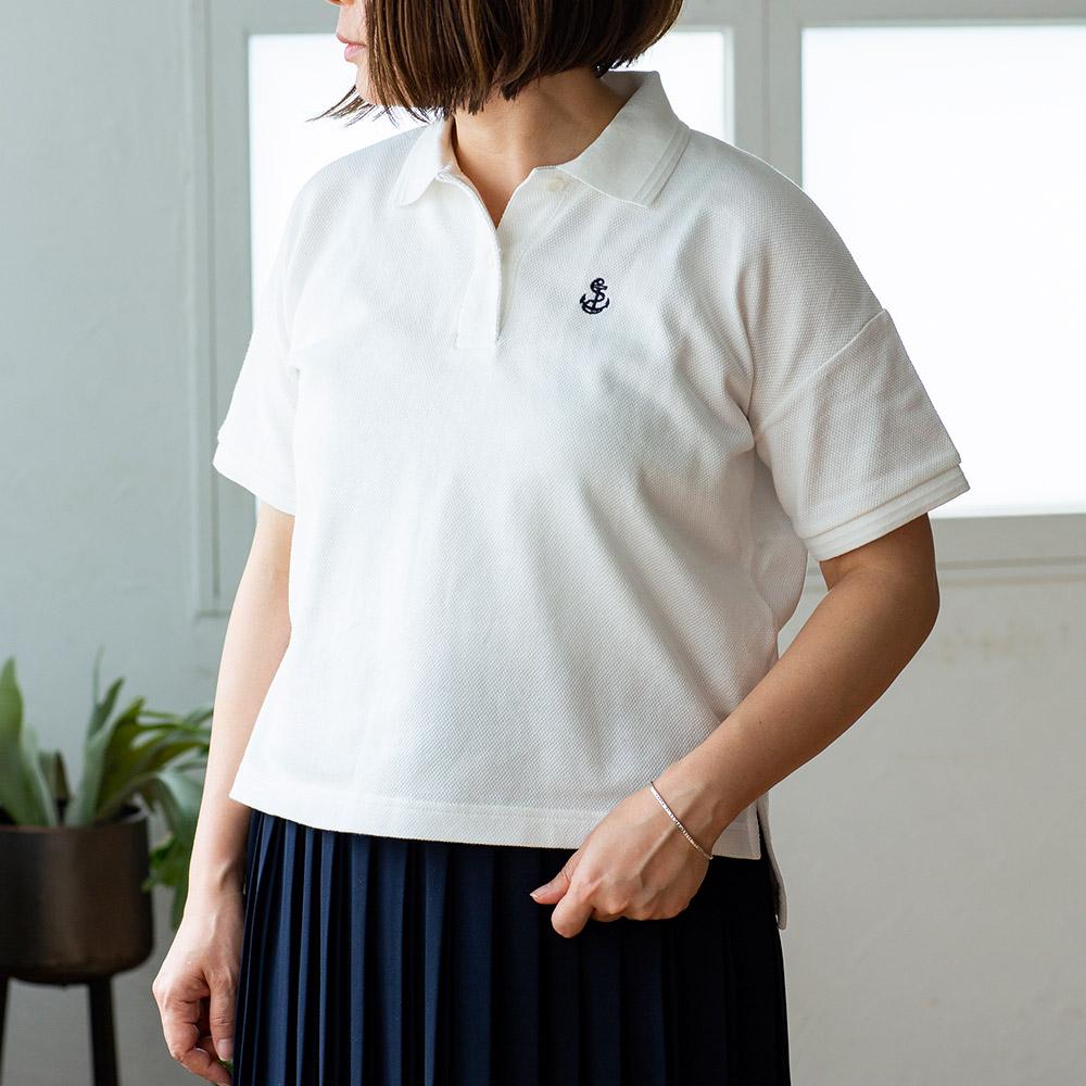 マリン ポロシャツ 半袖 鹿の子 メンズ レディース ユニセックス 男女兼用[FIDELITY/フィデリティ][あす着対応] セール対象