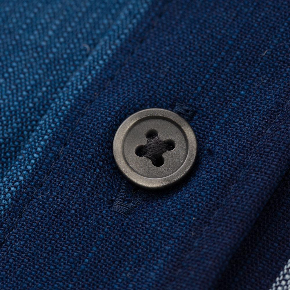 日本製 片貝木綿 半袖 ボタンダウンシャツ メンズ [あす着対応]
