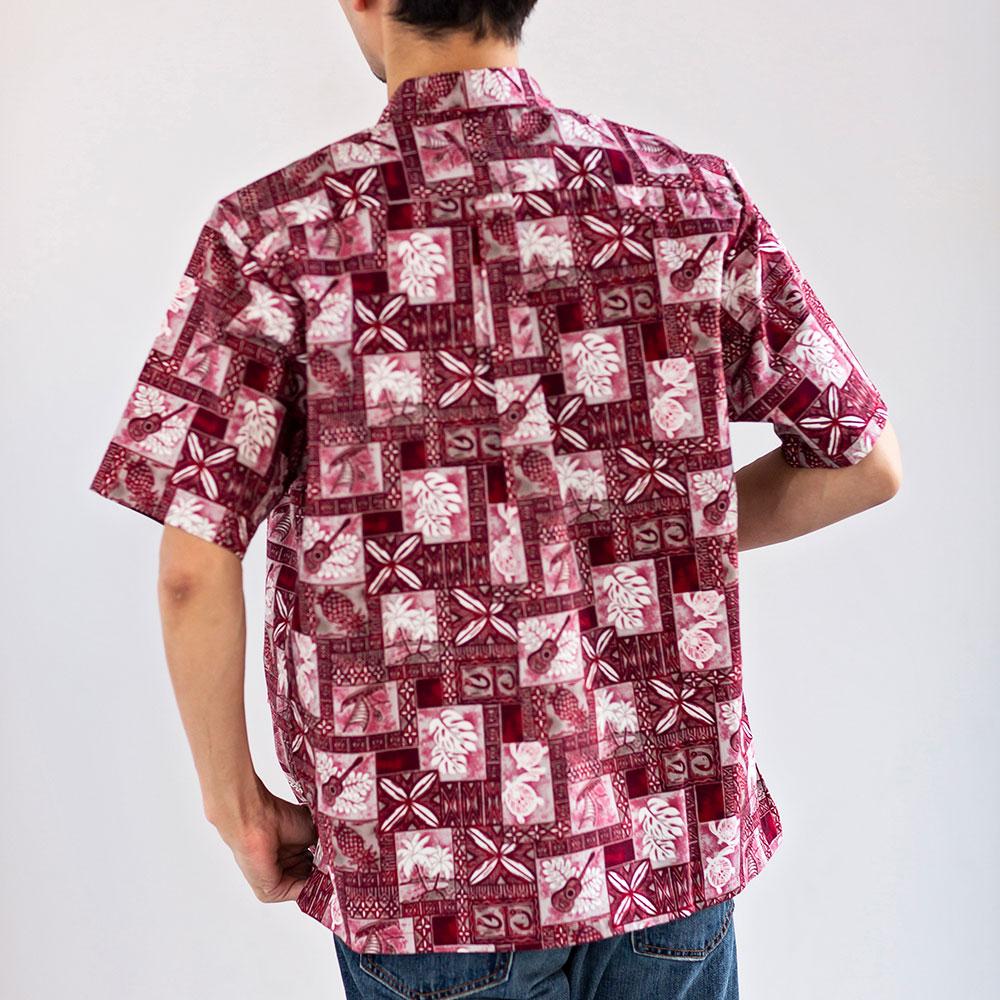 アメリカ製ハワイアンシャツ アロハシャツ[TWO PALMS / トゥーパームス][あす着対応]
