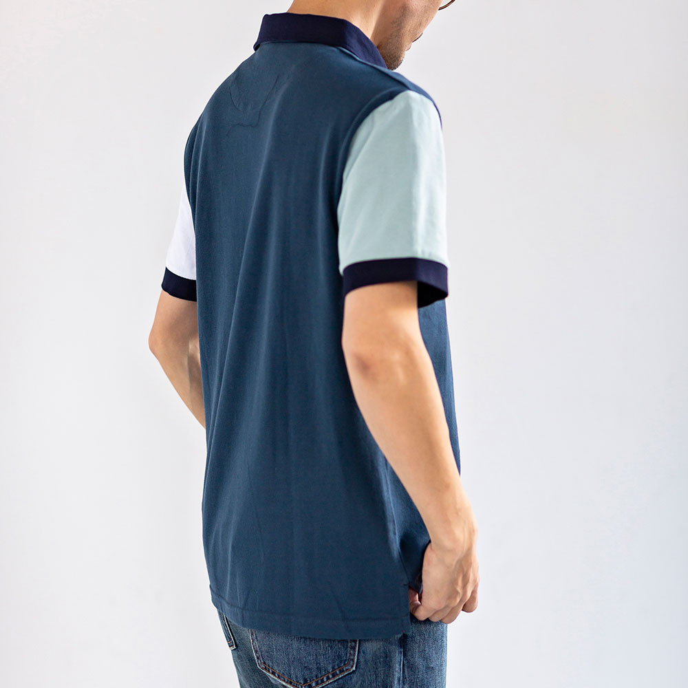 マリンポロシャツ 半袖 メンズ[Armor lux/アルモーリュクス][あす着対応]