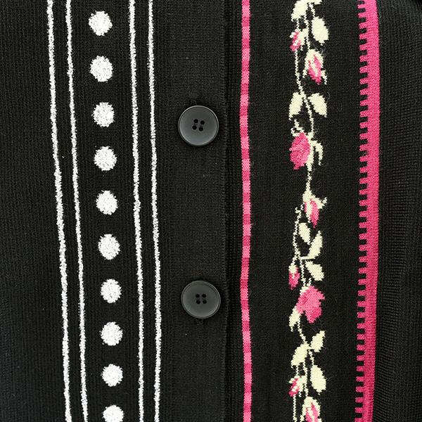スペイン製レディース花柄カーディガン グレンフィールド[あす着対応] セール対象