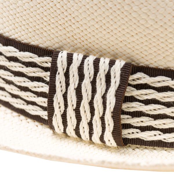 エクアドル製パナマハット ショートブリムパナマハット [エクア アンディーノ/Ecua Andino] [麦わらぼうし 麦わら帽子 短つば 帽子 ぼうし  夏  シンプル 春夏 夏物][あす着対応] セール対象