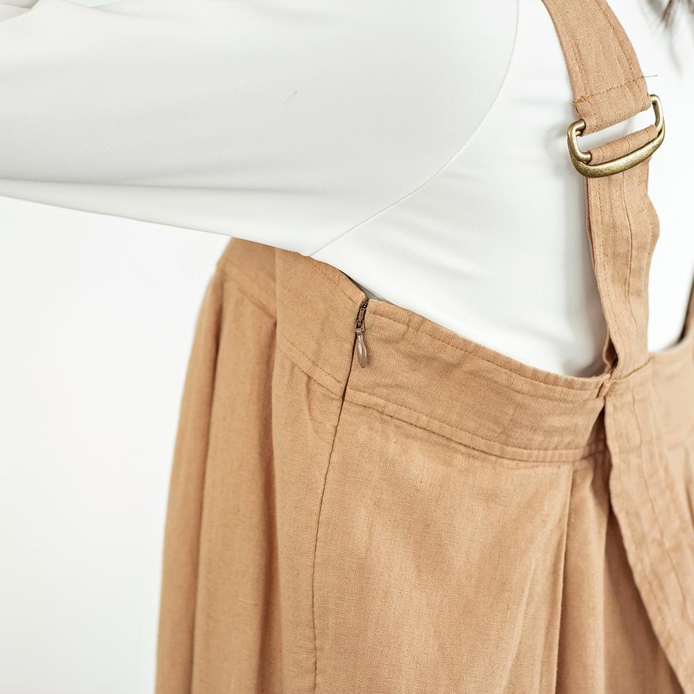 タック ジャンパースカート ワンピース 女性 レディース TUCK JUMPER SKIRT [Vincent et Mireille /バンソン エ ミレイユ][あす着対応]【apparel10】セール対象