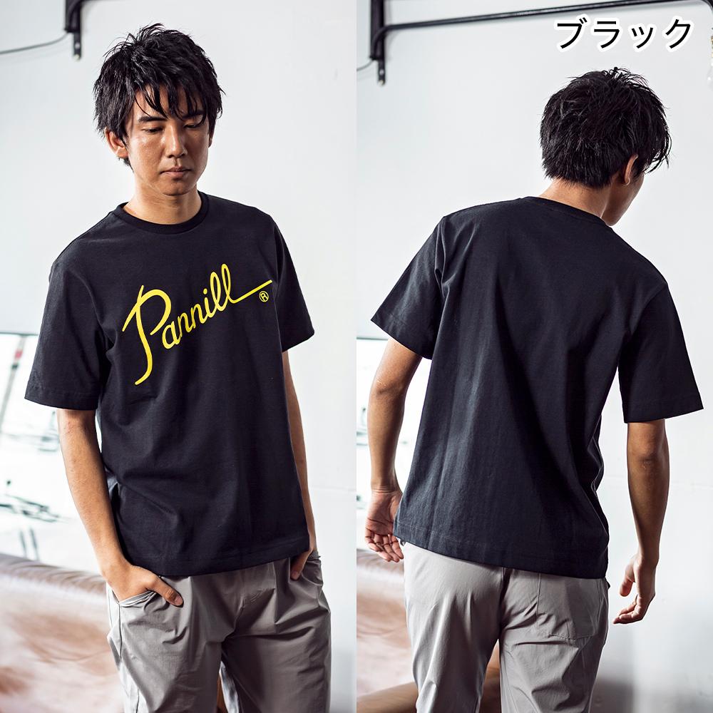 ロゴT Tシャツ 半袖 コットン MADE IN USA アメリカ製 SHORT SLEEVE PRINTED T-SHIRTS LOGO1 [PANNILL /パニール][あす着対応]【apparel10】