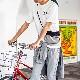 ロゴT Tシャツ 半袖 コットン MADE IN USA アメリカ製 SHORT SLEEVE PRINTED T-SHIRTS LOGO2 [PANNILL /パニール][あす着対応]