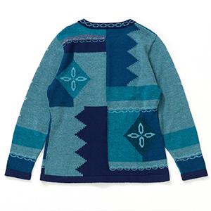 アルパカレディースエスペランサカーディガン[IFER Knitwear/アイファーニットウェア] [あす着対応]