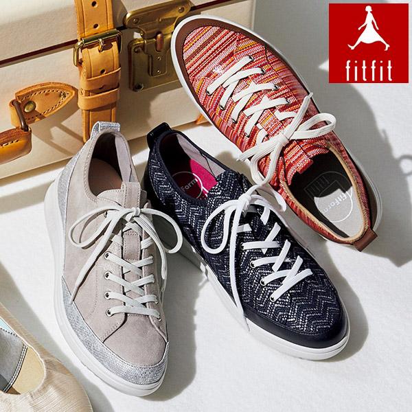 [fitfit/フィットフィット] 旅するやわらかスニーカー LITE [シューズ 靴 スニーカ 女性 レディース]