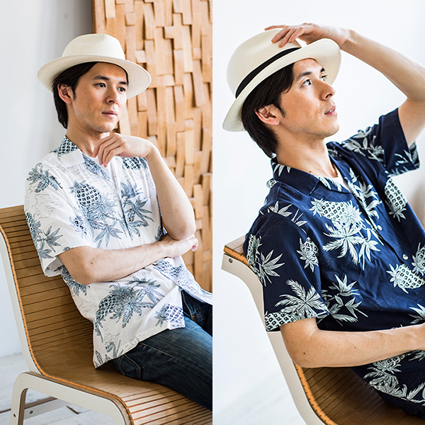 【TWO PALMS】アメリカ製 パイナップル アロハシャツ シャツ 半袖シャツ ハワイ 米国製 USA 柄シャツ[あす着対応] グレンフィールド[18ap03] セール対象