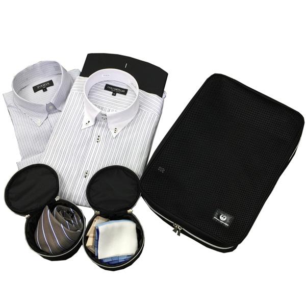 ワイシャツケース&ネックポーチ[JAL ORIGINAL/JALオリジナル][トラベル 旅行 ガーメントケース 誕生日 プレゼント] [JA] [あす着対応]