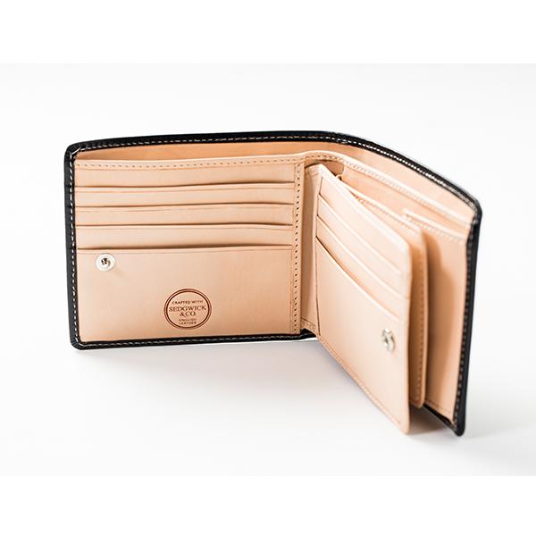 【BRITISH GREEN】ブライドルレザー二つ折り財布 - NEWモデル!【名入れ無料】【ブリティッシュグリーン】【財布】 大容量[あす着対応]u15/poi10s グレンフィールド[保証対象]