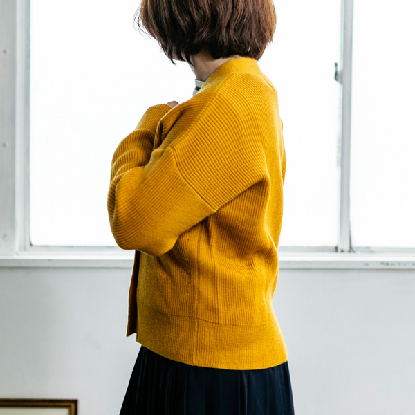 [Vincent et Mireille /バンソン エ ミレイユ] Vネック レディース カーディガンニット 日本製 ヴァンソンエミレイユ[あす着対応] セール対象