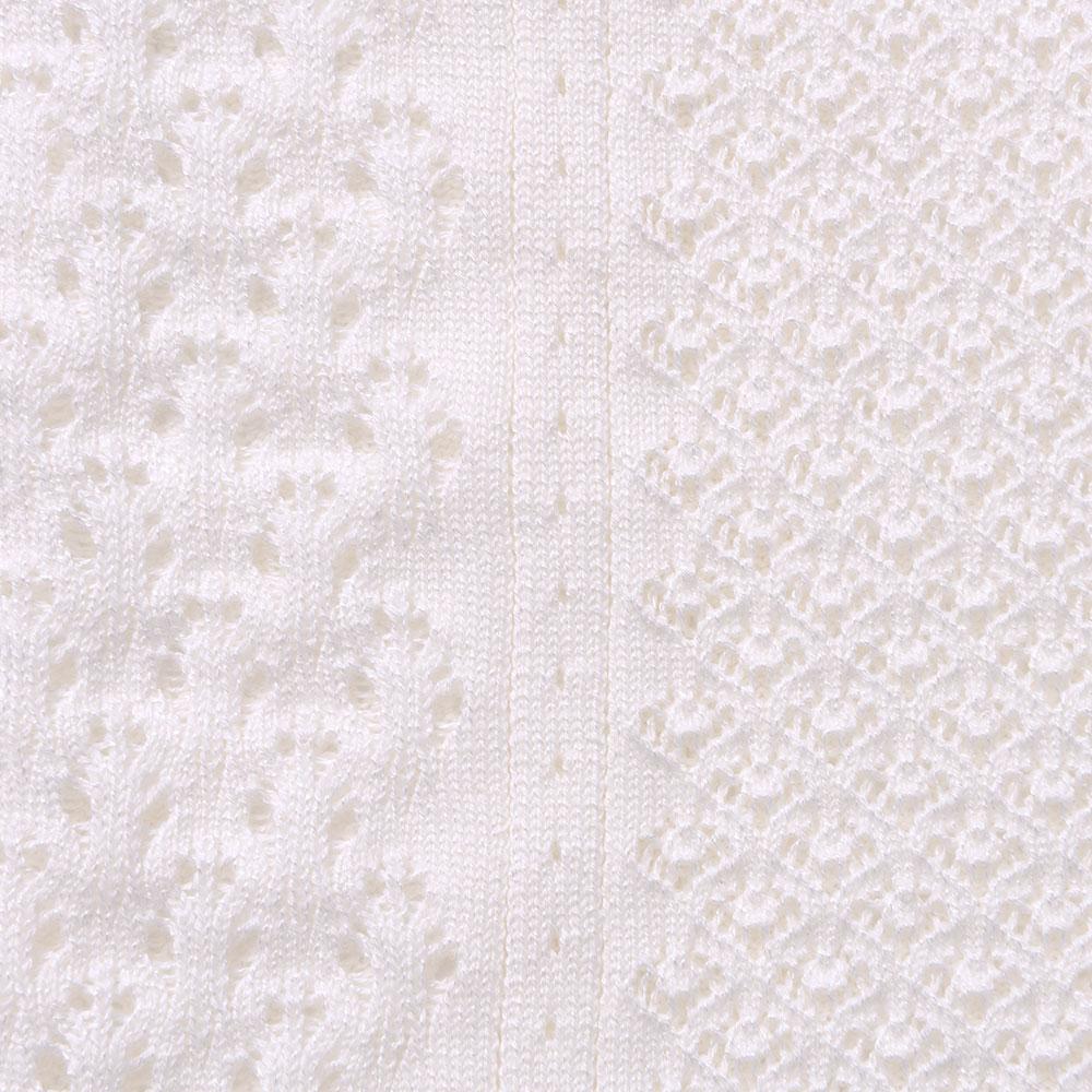 ロンフレッシュ(R) レディース ベスト 透かし編み 日本製 羽織り 春夏 冷房対策[Chiocciola/キオッチョラ][あす着対応]